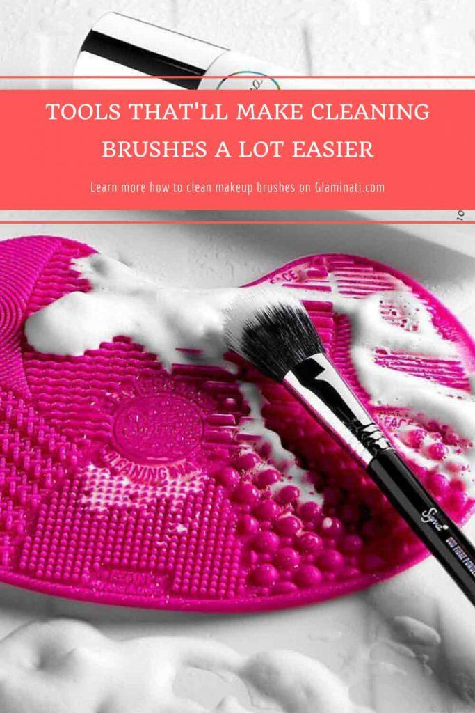 Silicone Makeup Brush Cleaning Mat #cleaningbrushmat