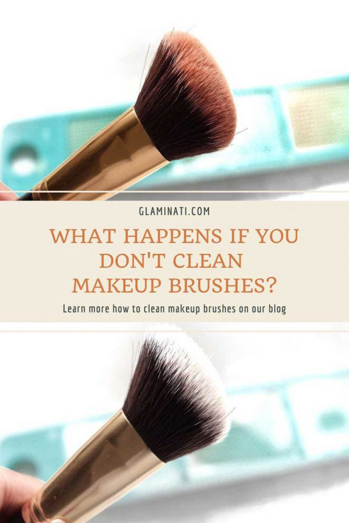 What Happens If You Don't Clean Makeup Brushes? #healthskin #acneprevention