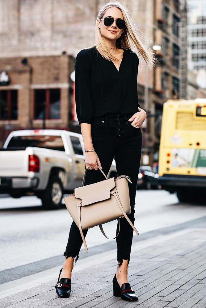Business Casual Outfits Idea #businesscasual #workoutfit