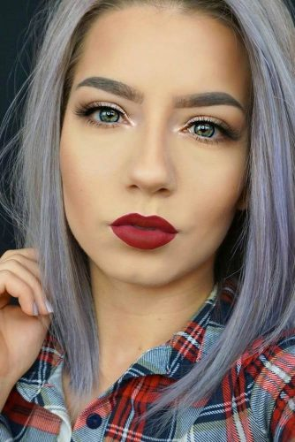 Red Lipstick Looks for Girls with Blonde Hair picture 6