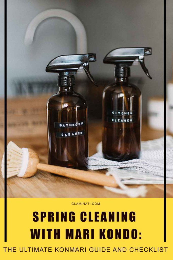 How Do You Clean Marie Kondo? #konmaricleaning #konmari