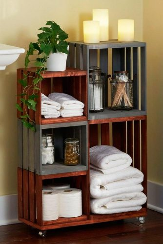 Storage Crates for Bathroom or Kitchen picture 1