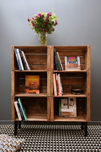 Furniture Made of Crates for Living Room picture 2