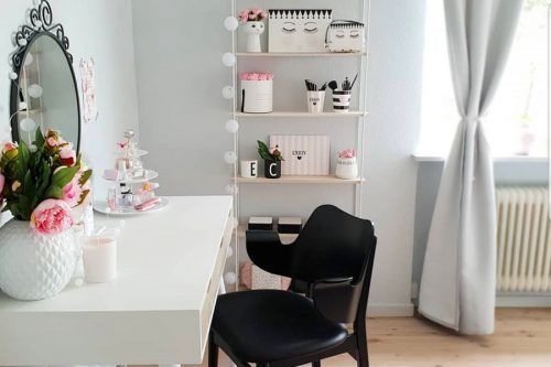 Most Popular Makeup Vanity Table Designs 2019Most Popular Makeup Vanity Table Designs