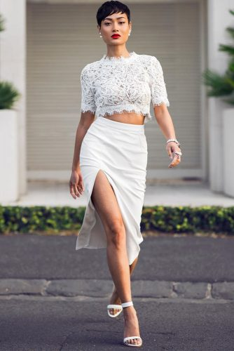 Sexy All White Looks picture 1