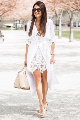 All White Feminine Outfits picture 6