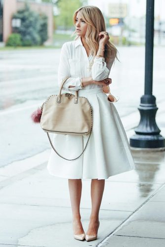 All White Feminine Outfits picture 5