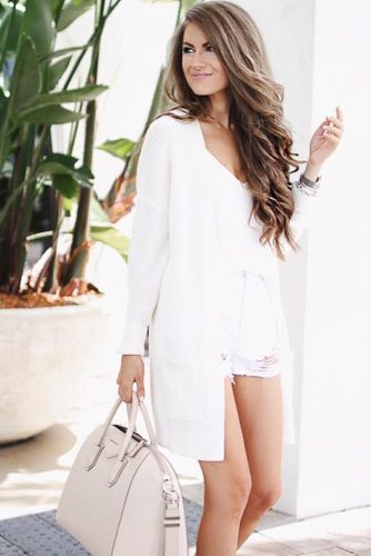 All White Feminine Outfits picture 4