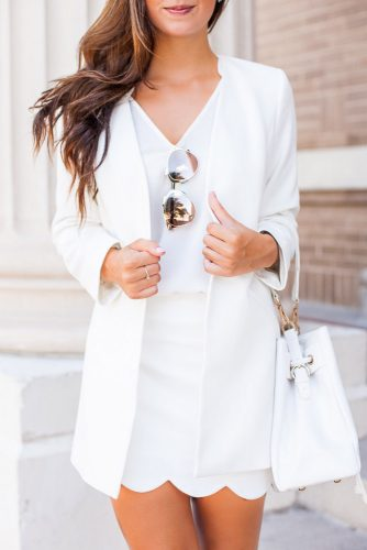 All White Feminine Outfits picture 2