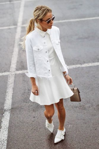 All White Feminine Outfits picture 3