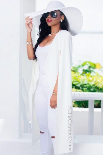 Fresh All White Outfit Ideas picture 2