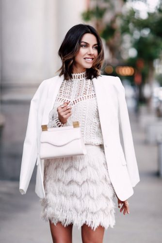 All White Feminine Outfits picture 1