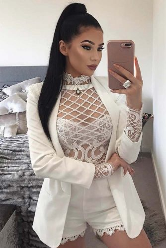 Sexy All White Looks picture 6