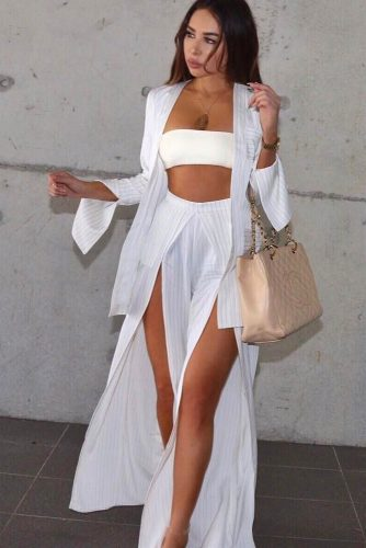 Sexy All White Looks picture 3