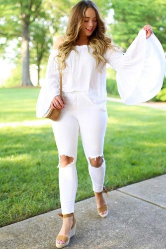 Newest All White Outfits picture 5