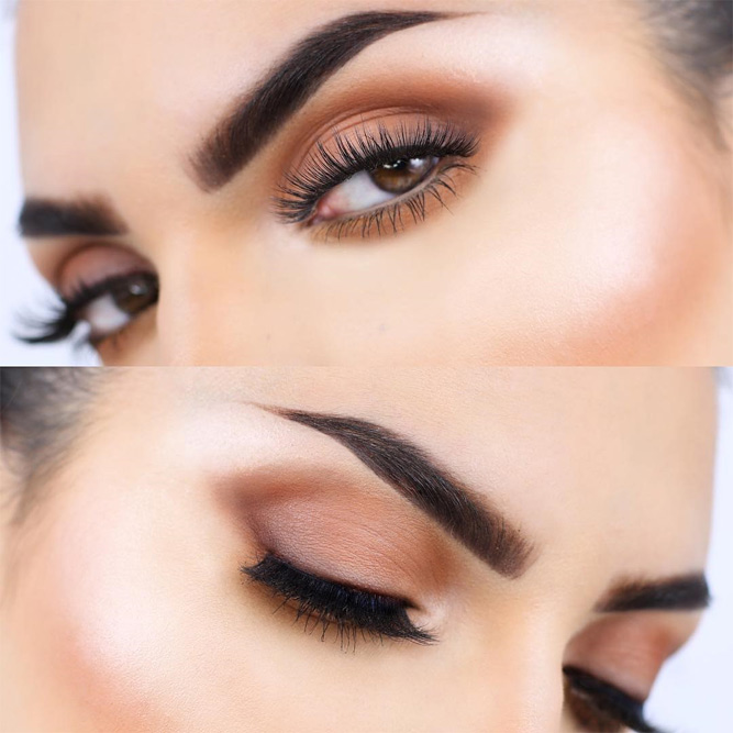 Cute Eye Makeup Looks for Brown Eyes picture 5