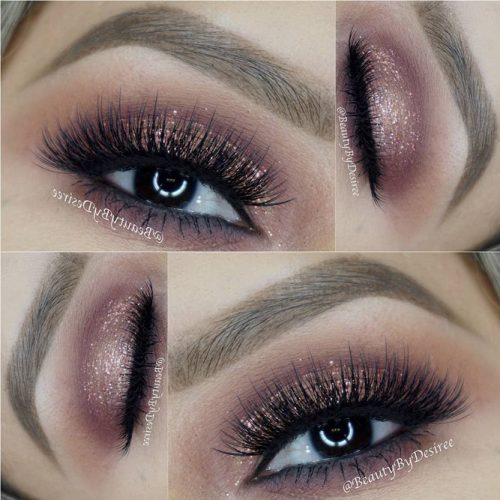 Glitter Eyeshadows for Brown Eyes picture 1