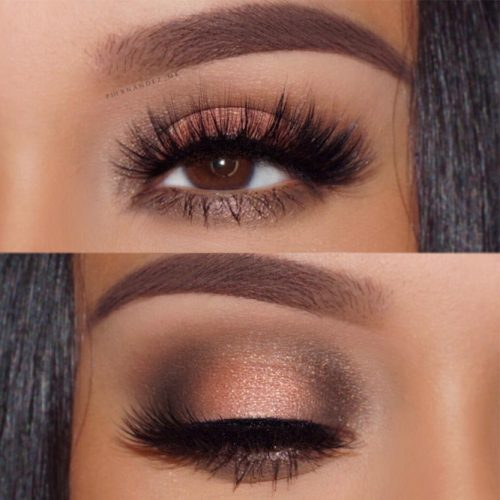 Glitter Eyeshadows for Brown Eyes picture 2