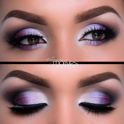 Glitter Eyeshadows for Brown Eyes picture 3