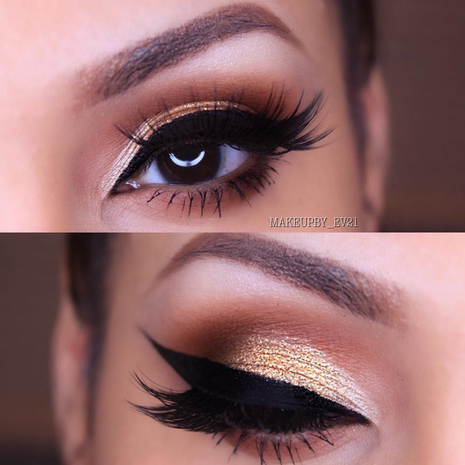 Lovely Makeup Ideas for Brown Eyes picture 1