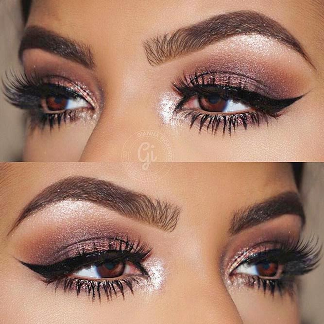 Lovely Makeup Ideas for Brown Eyes picture 2