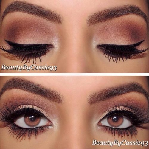 Lovely Makeup Ideas for Brown Eyes picture 3