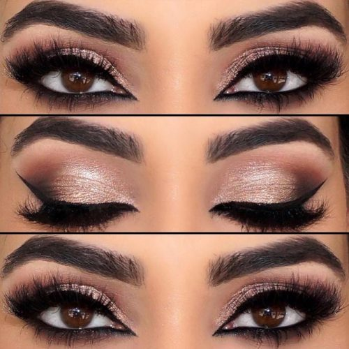 Lovely Makeup Ideas for Brown Eyes picture 4