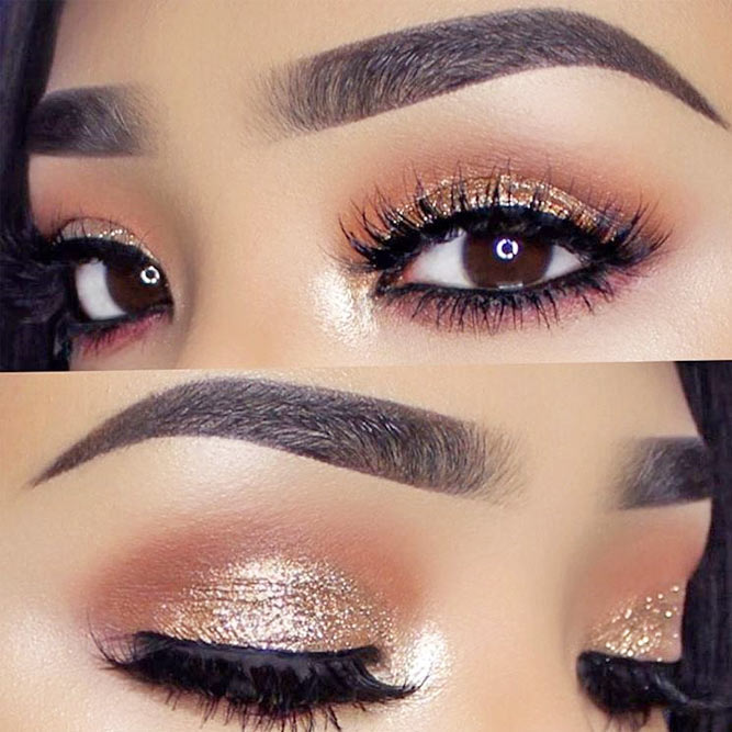 Lovely Makeup Ideas for Brown Eyes picture 6
