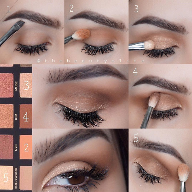 Eye Makeup Tutorials for Brown Eyes picture 4