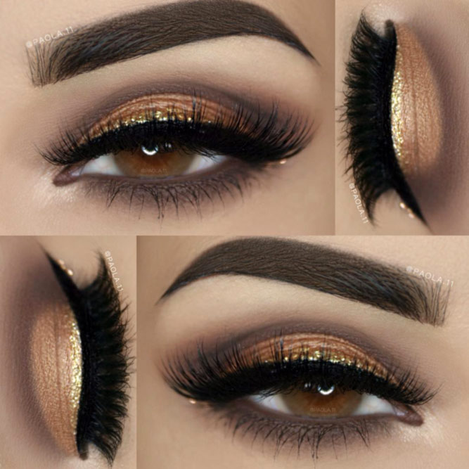 Glitter Eyeshadows for Brown Eyes picture 6