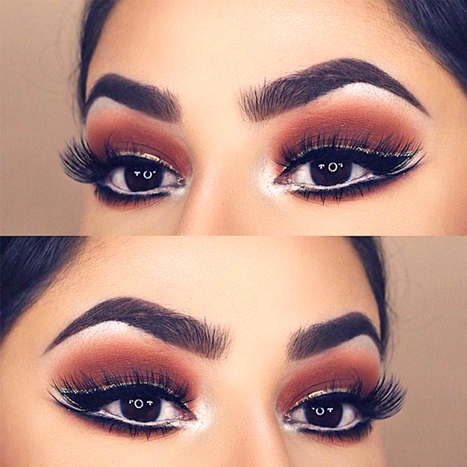 Newest Makeup Ideas For Brown Eyes picture 2