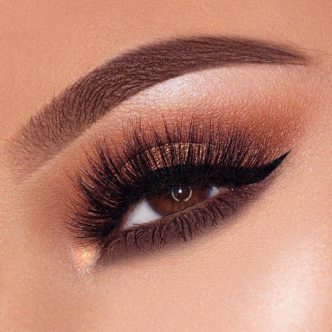 Shimmer Smokey With Smudge Line #brownsmokey