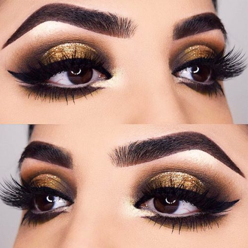 Glamorous Makeup Ideas For Brown Eyes picture 1