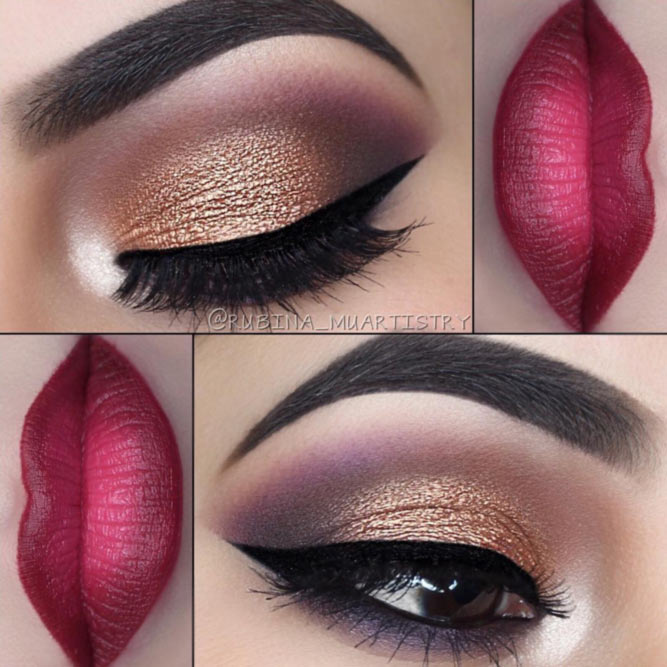 Attractive Makeup Ideas for Brown Eyes picture2