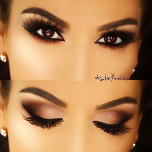 Matte Smokey Eyes Idea For Brown Eyes #mattesmokey