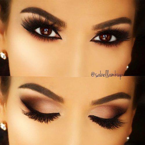 Matte Smokey Eyes Idea For Brown Eyes #mattesmokey