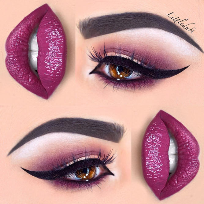 Attractive Makeup Ideas for Brown Eyes picture5