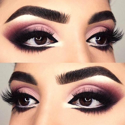 Glamorous Makeup Ideas For Brown Eyes picture 2