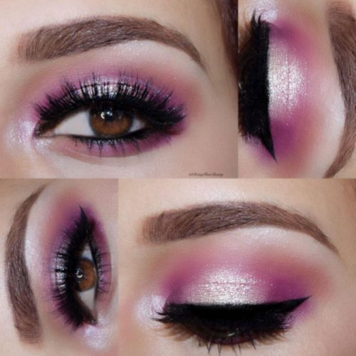 Glitter Eyeshadows for Brown Eyes picture 4