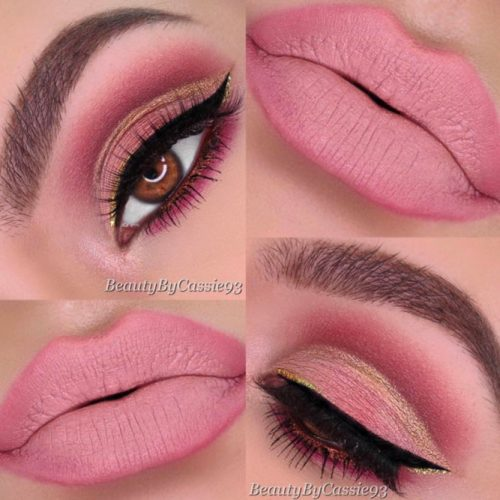 Attractive Makeup Ideas for Brown Eyes picture1