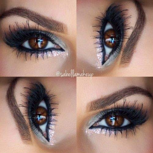 Glitter Eyeshadows for Brown Eyes picture 5
