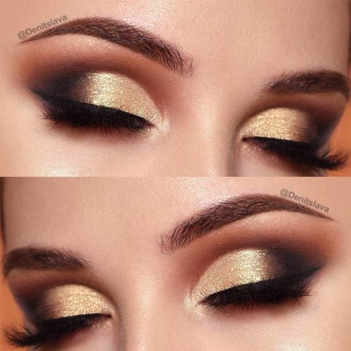Glamorous Makeup Ideas For Brown Eyes picture 3