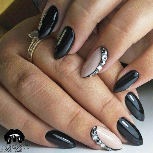 Pretty Nail Designs in Dark Colors picture 4