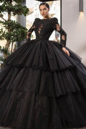 Black Prom Dress Design #blackpromdress
