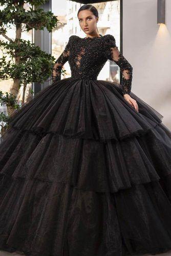 Black Prom Dress Design #blackpromdress