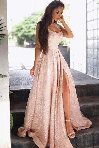 Prom Dress Design For Girls With Heart Face Shape #faceshape #shimmerdress