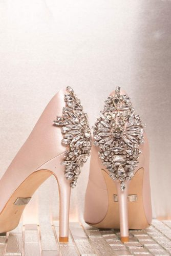 Shimmeriy shoes for prom