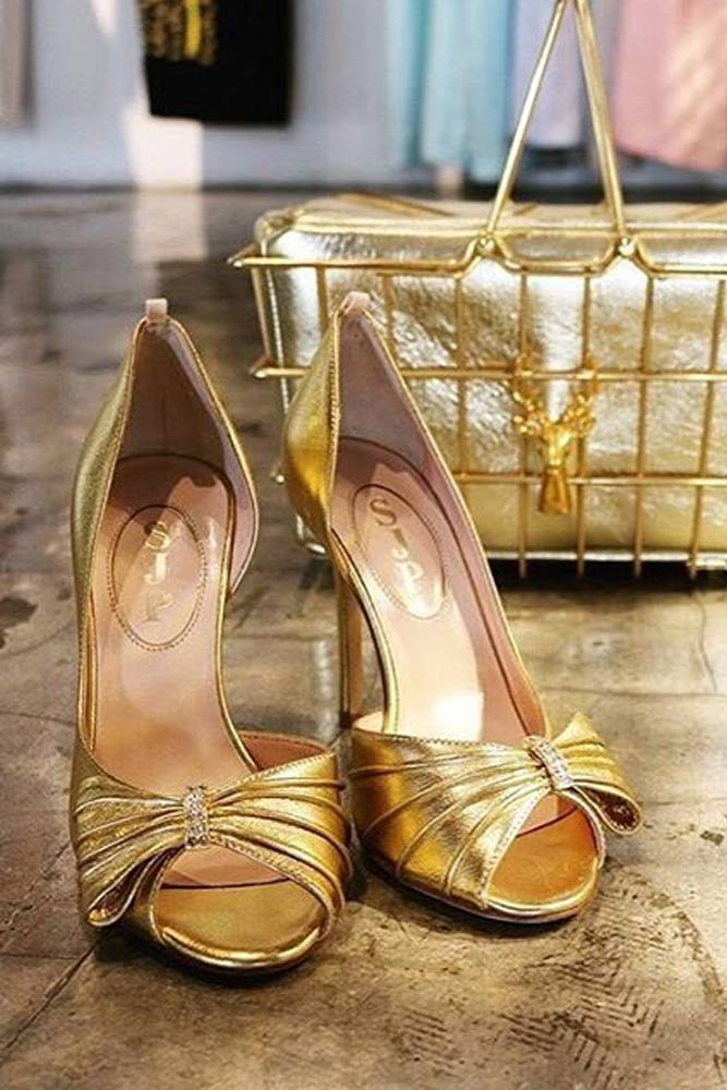 Gold Prom Shoes picture 2