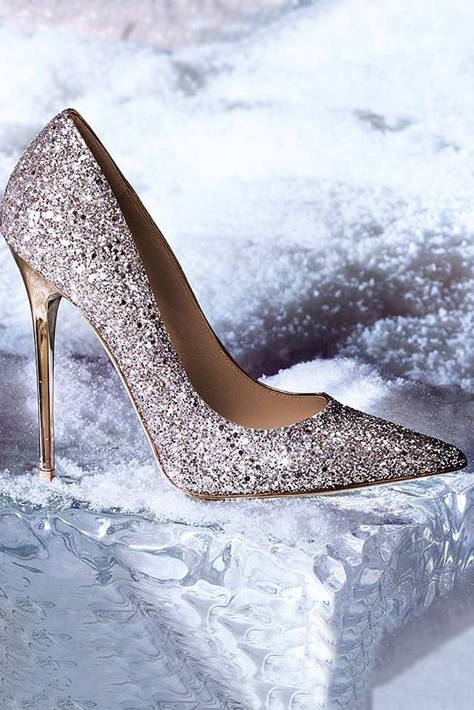 Silver Prom Shoes picture 1