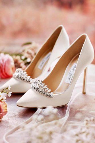 White Pump Prom Heels